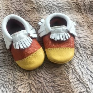 Freshly Picked Moccasins - Candy Corn - Size 2